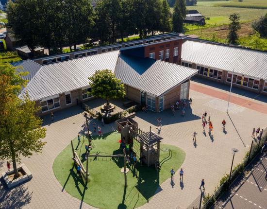 Renovatie Fraanjeschool de Burcht in Barneveld